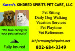 Karen's Kindred Spirits Pet Care, LLC